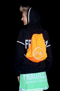 high visibility hoodie reflective unisex