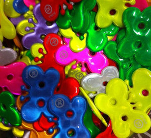 buttons reflective 35mm