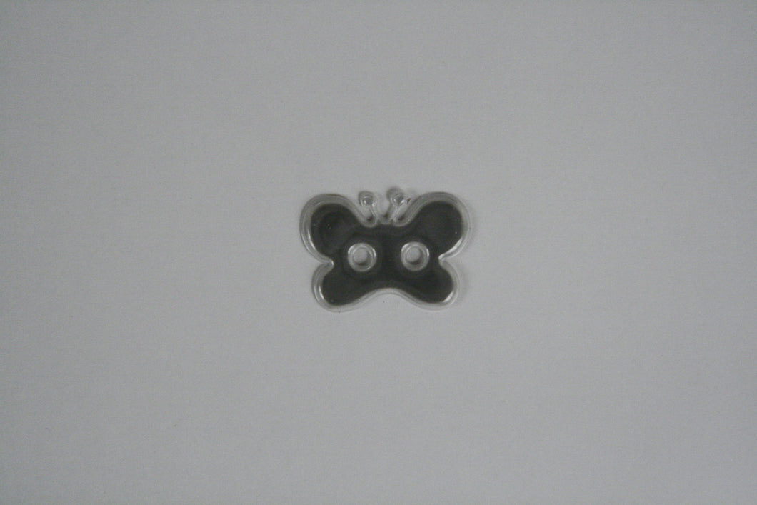 Reflective butterfly button