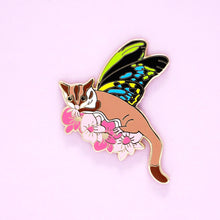 Load image into Gallery viewer, Sugar glider enamel pin