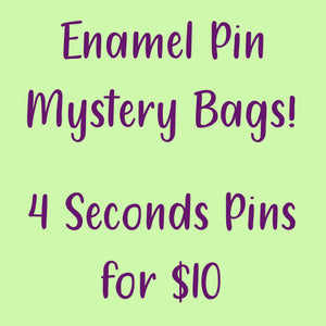Seconds pins mystery bag