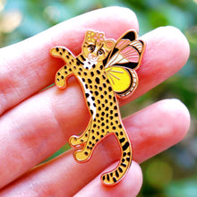 Load image into Gallery viewer, Oncilla butterfly enamel pin