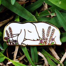 Load image into Gallery viewer, Sleepy lamb enamel pin