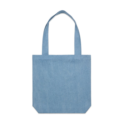 DENIM CARRIE TOTE - 1012