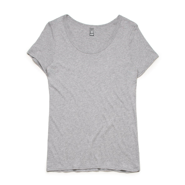 SHALLOW SCOOP TEE - 4011