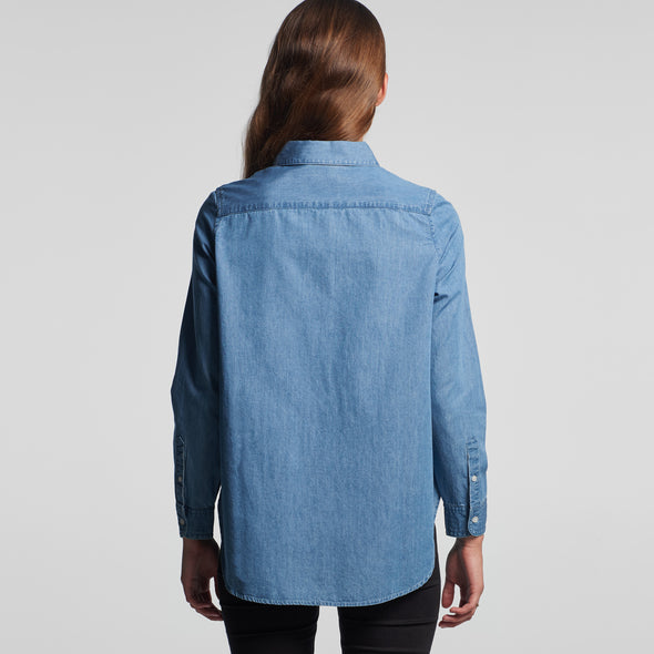 BLUE DENIM SHIRT - 4042