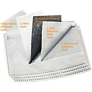 Activated Carbon Filters x 10