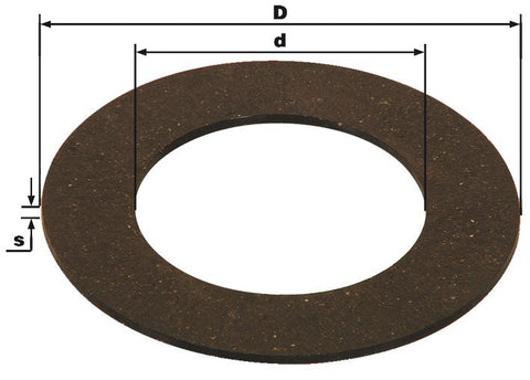 "6"" Slip Clutch Friction Disc"