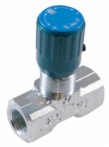 Two-Way Hydraulic Flow Restrictor