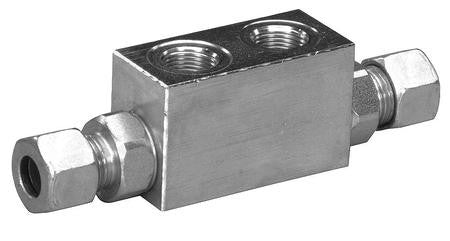 "Check Valve with 3/8"" BSP Ports"
