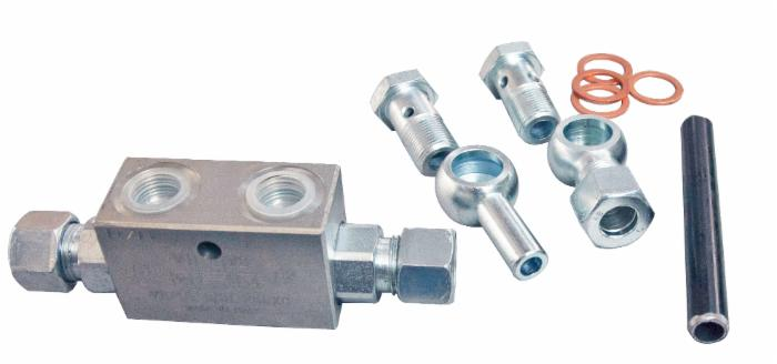 "Double Pilot Check Valve Kit (12 13/16"" Assembled Length)"