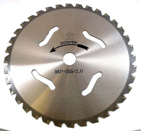 Tungsten Brush Cutter Blade - 36 Tooth