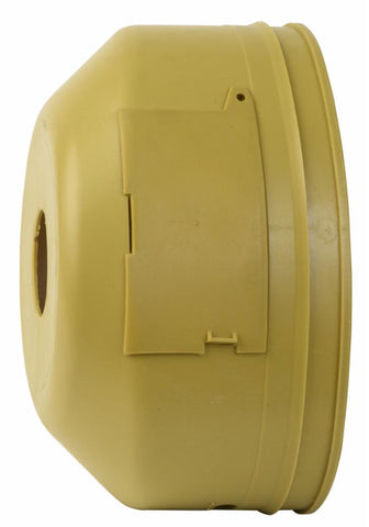 "5 13/16"" Oval PTO Safety Shield with Double Hatch"