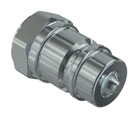 "1/2"" Valve Type Quick Coupler - Male"