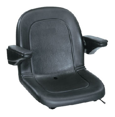 Tractor Seat Deluxe High Back Armrests and Slides