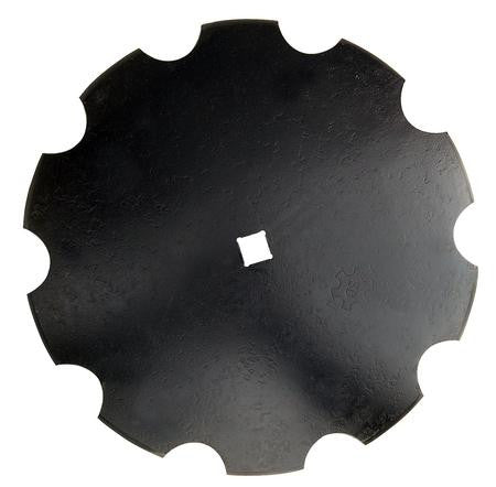 "24"" Notched Disc Blade"