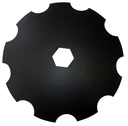 "20 1/16"" Notched Disc Blade"