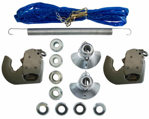Cat. 2/1 Euro Style Quick Hitch Hook Kit