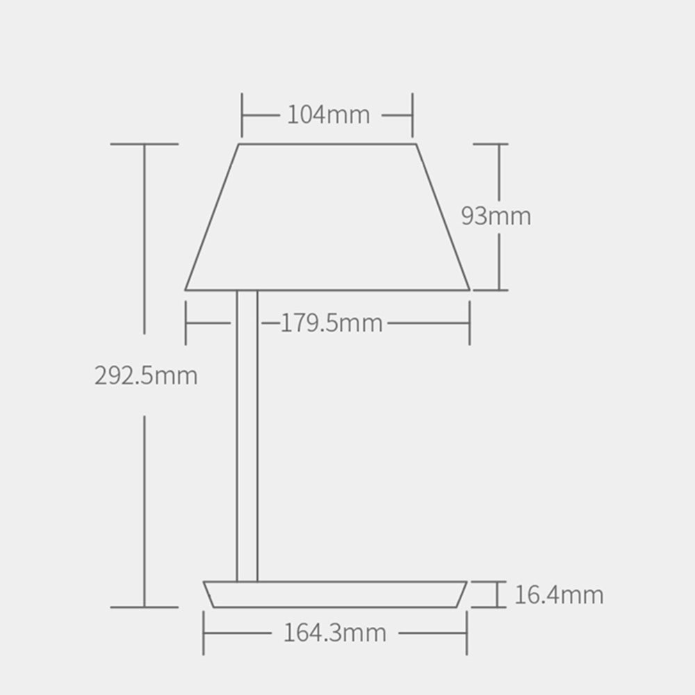 Yeelight Staria Pro Bedside Lamp Wireless Fast Charging for mobile phone