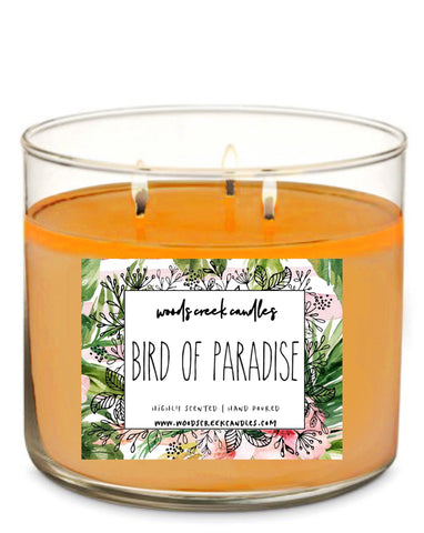 3-wick Bird Of Paradise