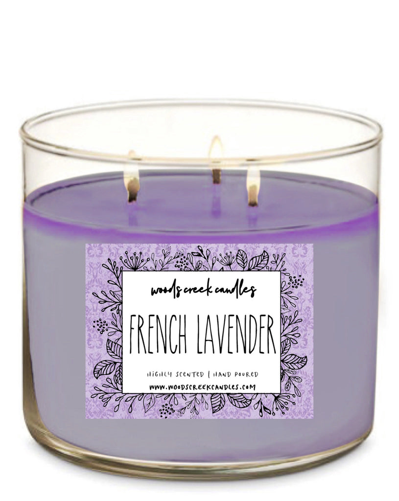 3-Wick French Lavender