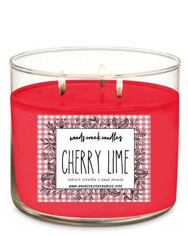 3-wick Cherry Lime