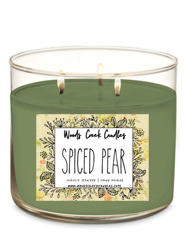 3-wick Spiced Pear