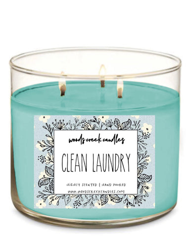 3-wick Clean Laundry