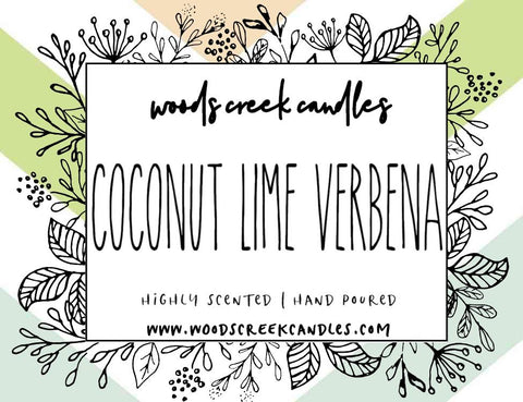 Coconut Lime Verbena 🥥 🌴
