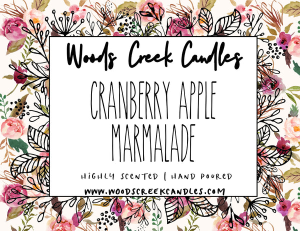 3-wick Cranberry Apple Marmalade