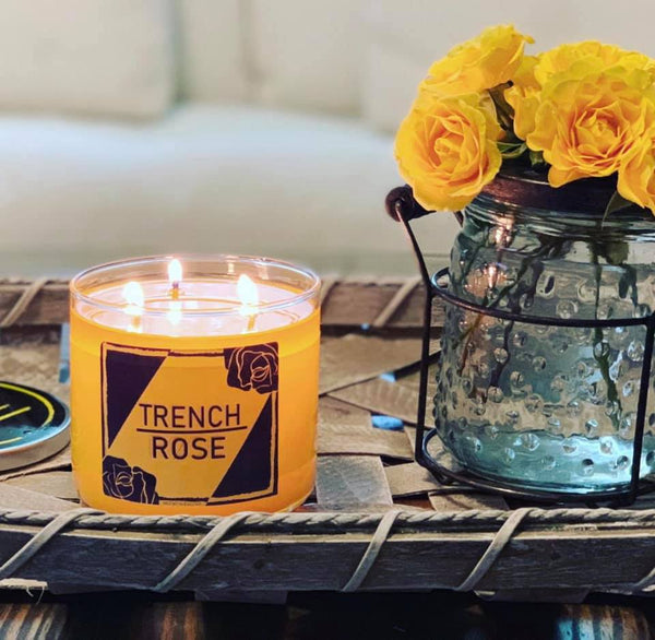 Trench Rose 21 Pilots Tribute Candle!