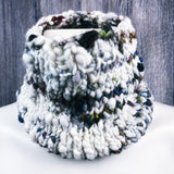 warm & cozy cowl ~ hand knit ~ handspun yarn