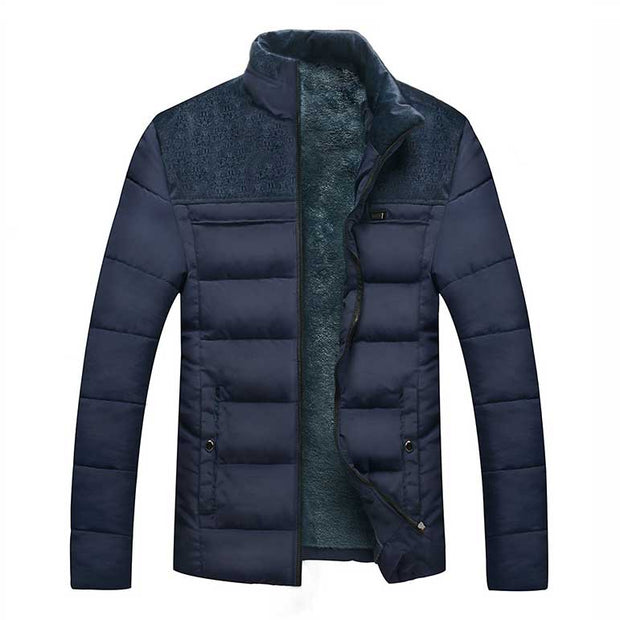 Mojodota Winter Herrenjacke dicke warme Daunenjacke