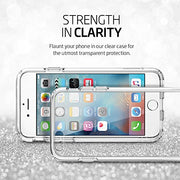 Spigen® [Ultra Hybrid Kompatibel mit iPhone 6S Hülle Einteilige Transparent Silikon TPU Schutzhülle für Apple iPhone 6S Case Crystal Clear (SGP11598)
