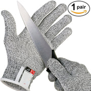 Anti-cut Gloves Safety Cut Proof Stab Resistant Stainless Steel Wire Metal Mesh Kitchen Butcher Cut-Resistant Safety Gloves