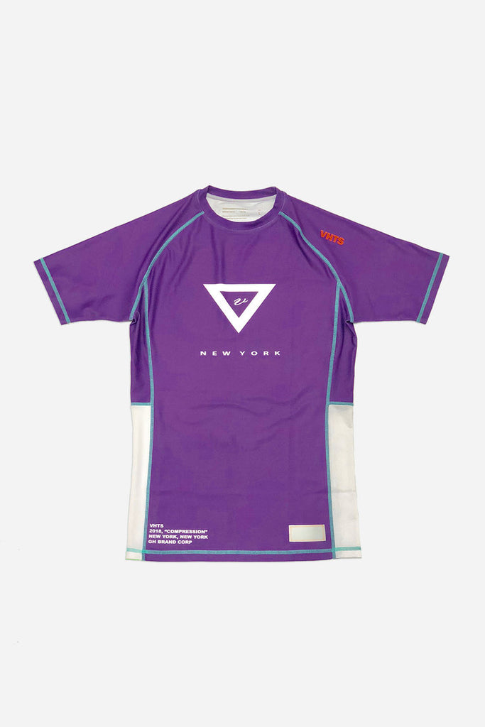 VHTS BJJ RANKED RASH GUARD