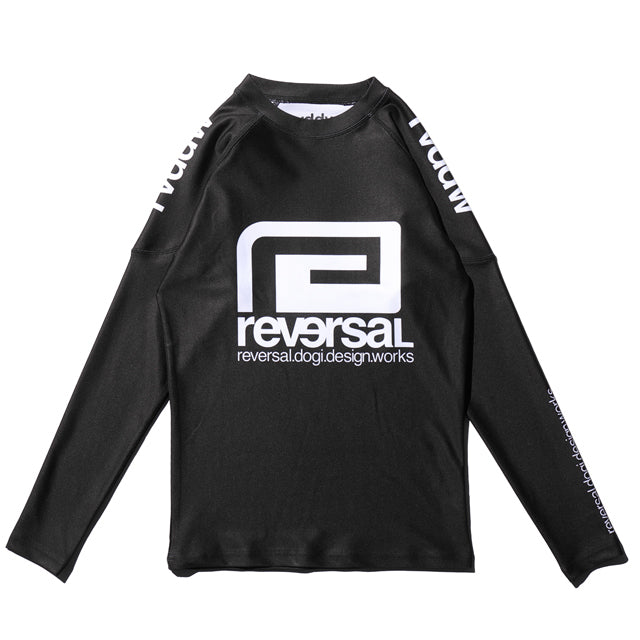RVDDW MMA Rash Guard Long Sleeve Black