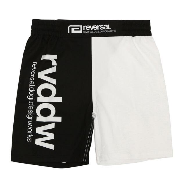RVDDW Grappling MMA Shorts - Black/White