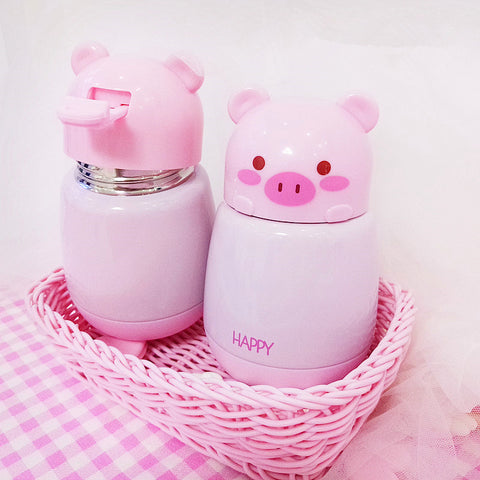 Happy Pig Water Bottle JK1008