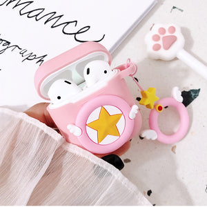 Sakura and Micky Airpods Protector Case  JK1438