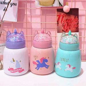 Kawaii Unicorn Water Bottle JK1037