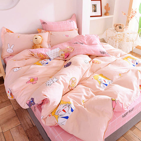 Sweet Sailormoon Four Piece-suit Bedding JK2053