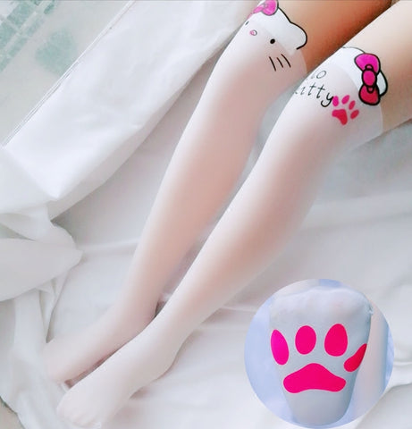 Fashion Hello kitty Long Socks JK1658