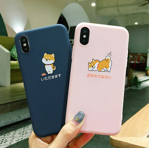 Shiba Dog Phone Case for iphone 6/6s/6plus/7/7plus/8/8P/X/XS/XR/XS Max JK1461