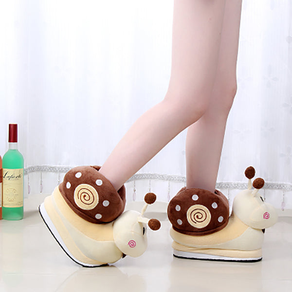 Kawaii Snail Girls Slippers JK1743