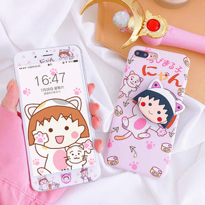 Sakura Momoko Phone Case for iphone 6/6s/6plus/7/7plus/8/8P/X/XS/XR/XS Max JK1190