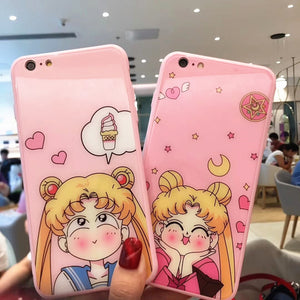 Smile Usagi Phone Case for iphone 6/6s/6plus/7/7plus/8/8P/X JK1076