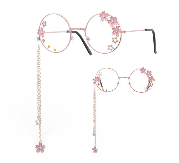 Fashion Lolita Sakura Glasses JK1761