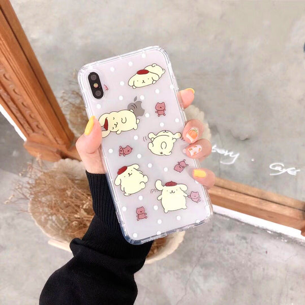 Cute Cinnamoroll Phone Case for iphone 6/6s/6plus/7/7plus/8/8P/X/XS/XR/XS Max JK1525