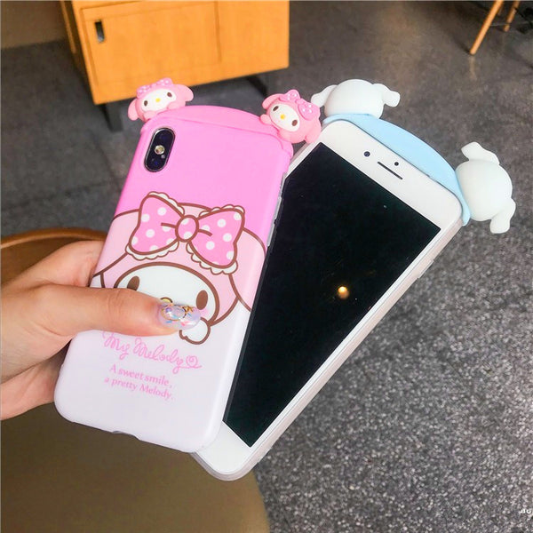 Pink Mymelody Phone Case for iphone 6/6s/6plus/7/7plus/8/8P/X JK1099
